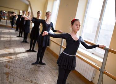 Концерт хореографической школы-студии «Лезгинка»