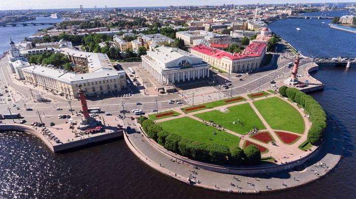 10 фактов о строительстве стрелки Васильевского острова в Петербурге