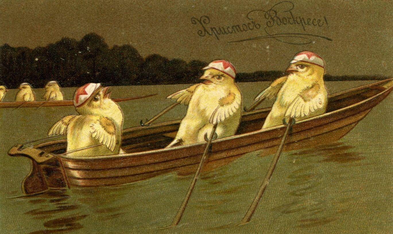 Традиция пасхальной открытки. Галерея 4