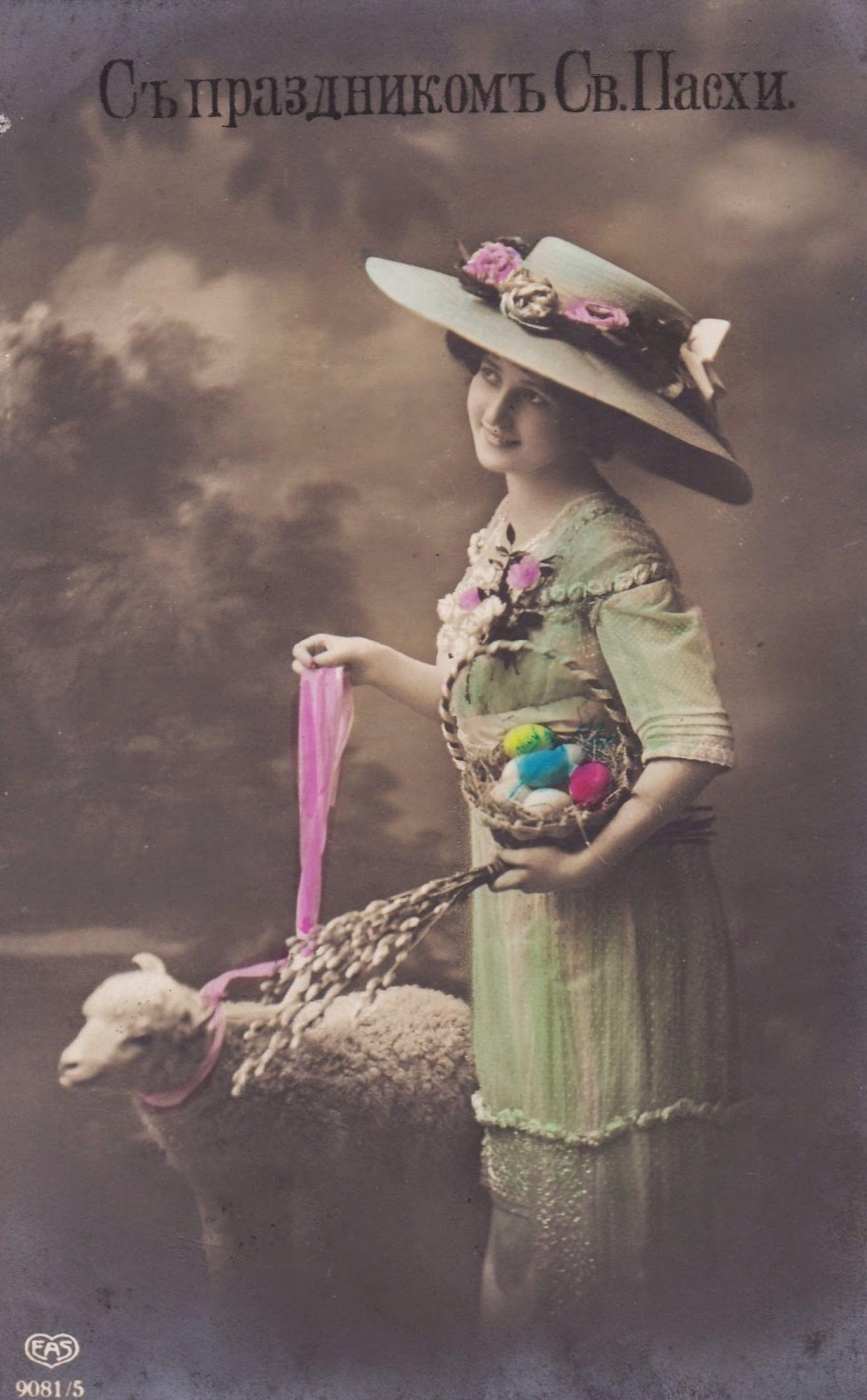 Традиция пасхальной открытки. Галерея 3