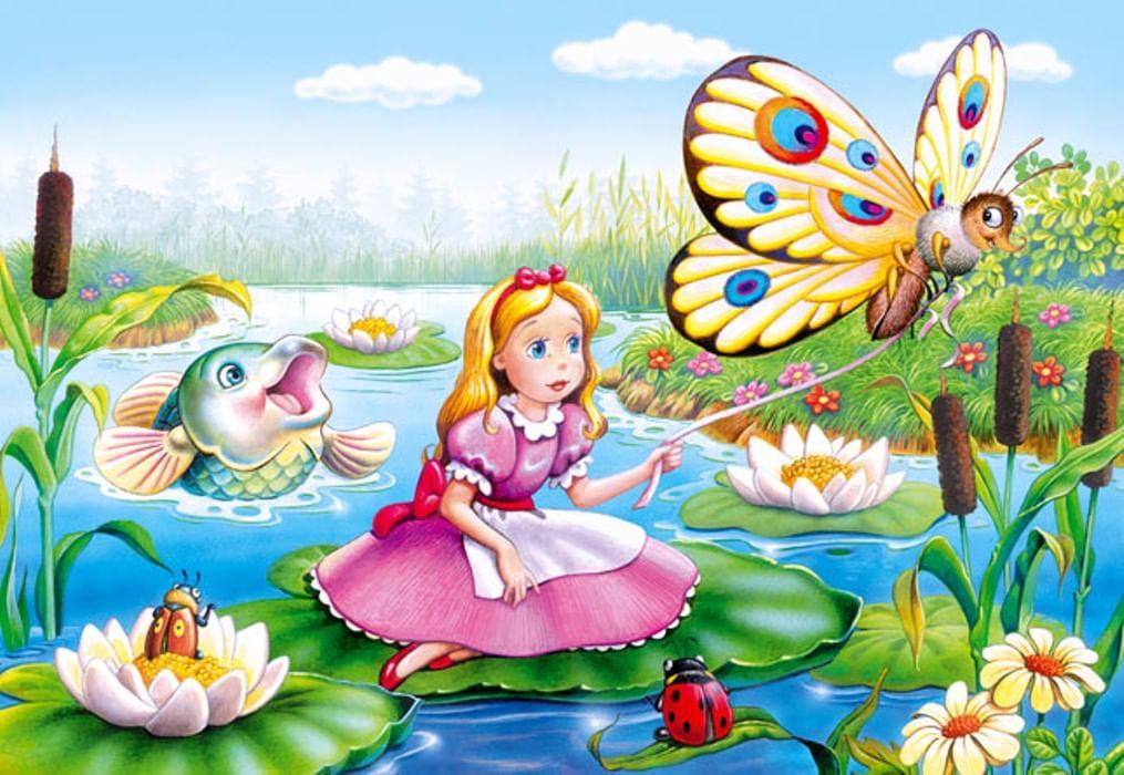 Красивые иллюстрации к сказкам для детей