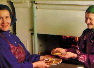 Весенний обряд Акашка́ кукморских удмуртов