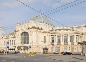 Витебский вокзал вСанкт-Петербурге