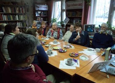 Библиосумерки в Спас-Деменской центральной библиотеке