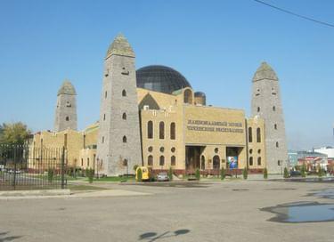 Посещение Национального музея Чеченской Республики
