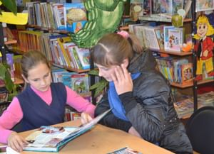 Клюквинская сельская библиотека-филиал