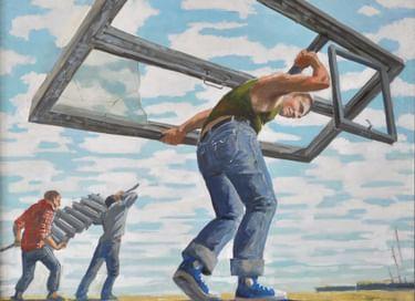 Передвижная выставка «Мост через реальность 4. Движение»