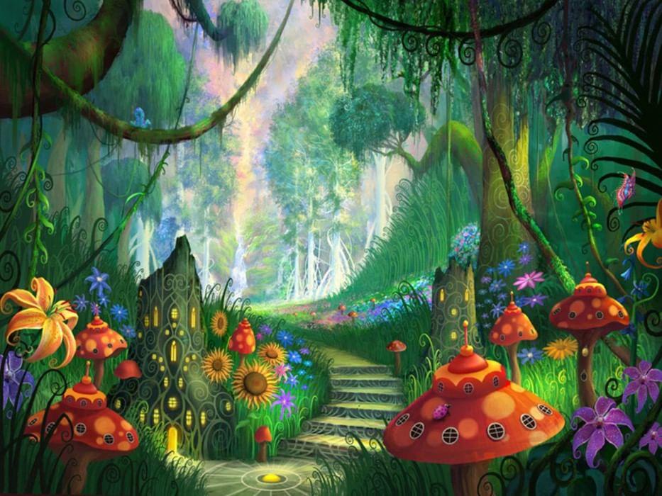 Сказочные картинки в анимашках, поздравление днем