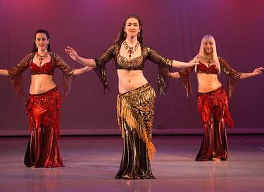 Концерт студии восточных танцев