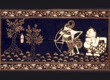 Лекция «Капля воска. Искусство индонезийского батика»
