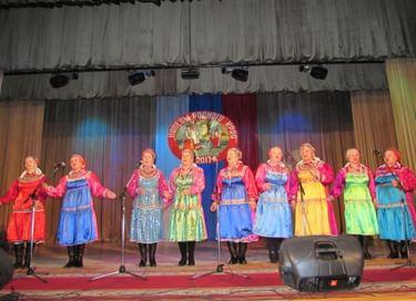 Районный фестиваль «Напевы родного края»