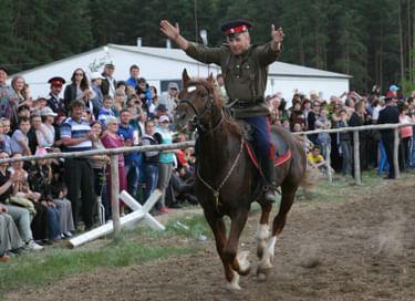 Литературно-этнографический праздник «Конь казаку всего дороже»