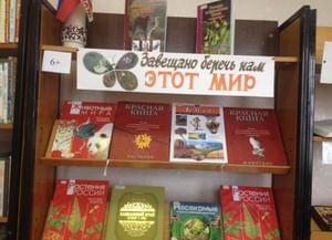 Библиотека-филиал № 1 г. Михайловска
