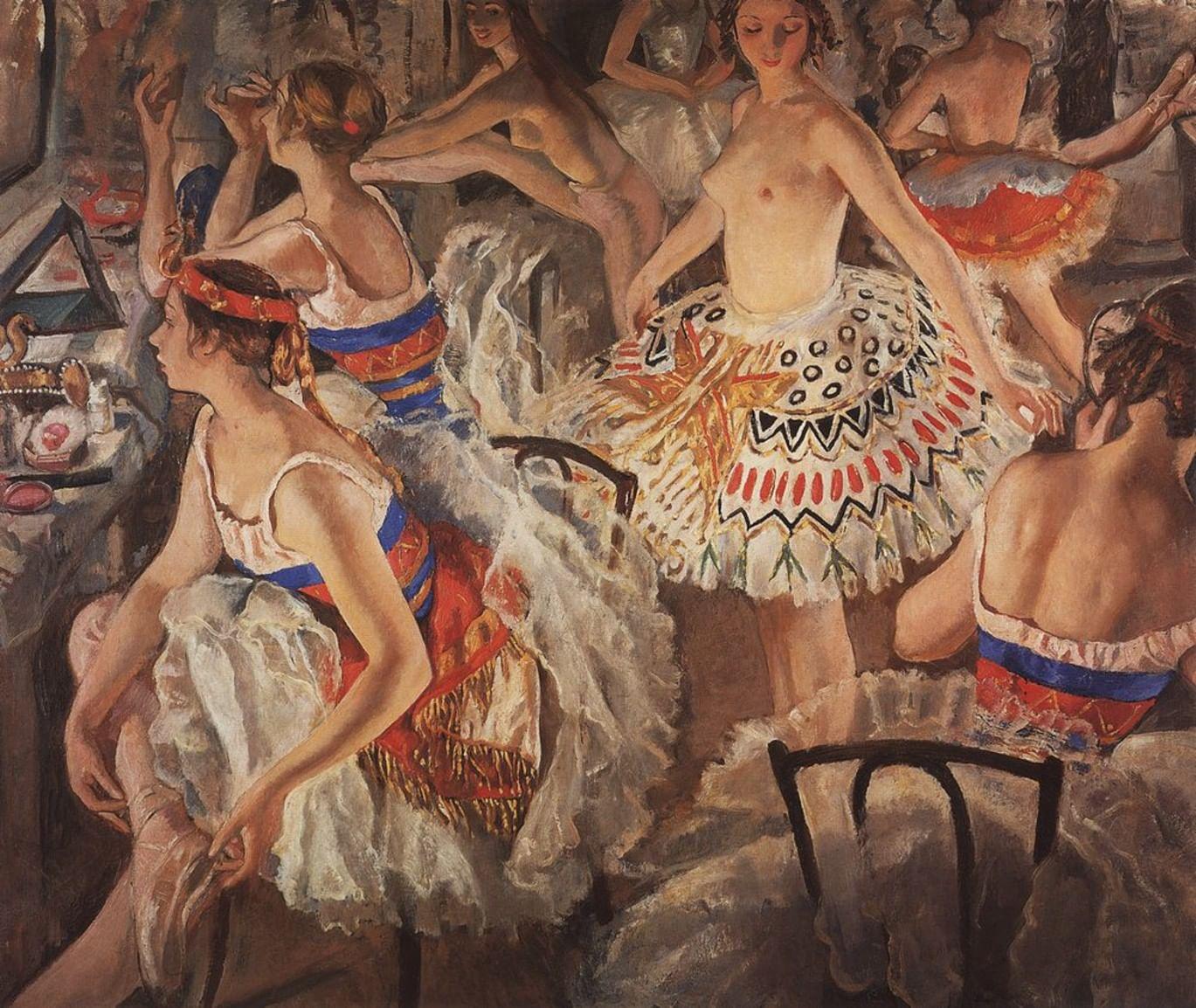 Танец на холсте: 5 картин русских художников. Галерея 1