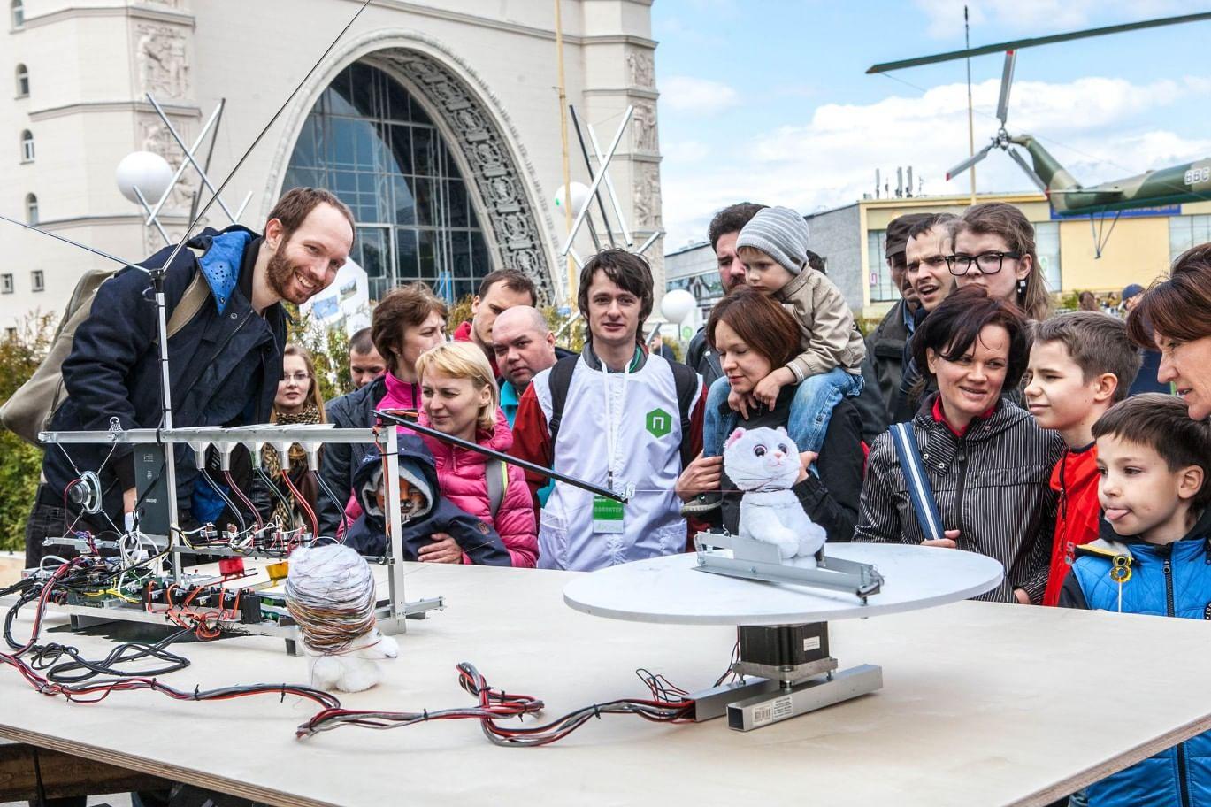 Фестиваль науки, искусства и технологий «Политех». Фотография: fest.polymus.ru