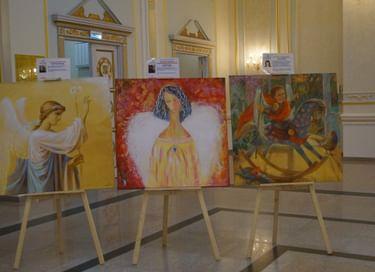 Выставка «Ангелы мира» в Зеленогорске