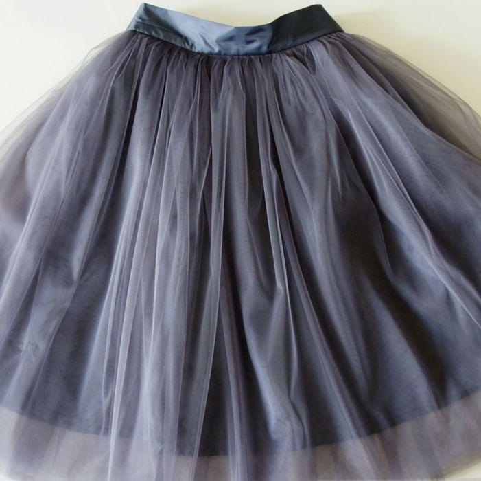 Мк по пошиву юбки из фатина