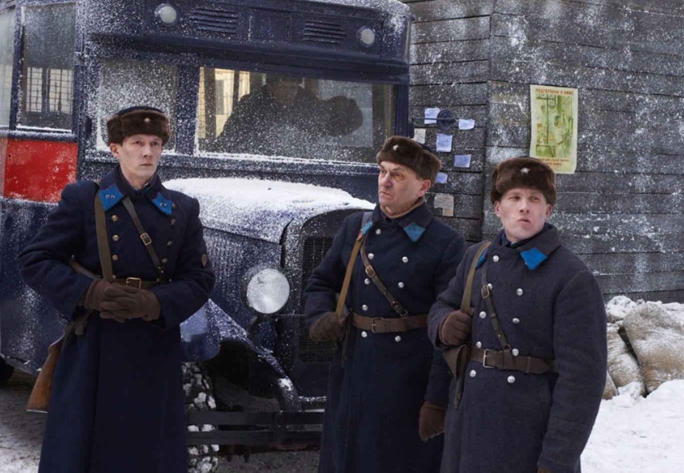 Съемки фильма «Три дня до весны». Фотография: lenfilm.ru