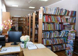 Библиотека-филиал № 23 с. Ома