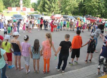 Праздник ко Дню защиты детей