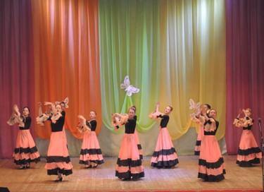 Отчетный концерт образцового хореографического коллектива«Акварель»