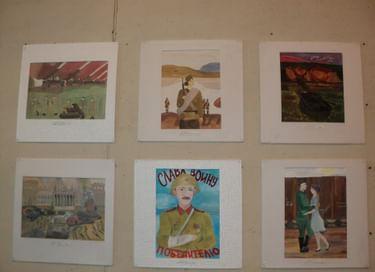 Выставка «Я расскажу вам о войне...»