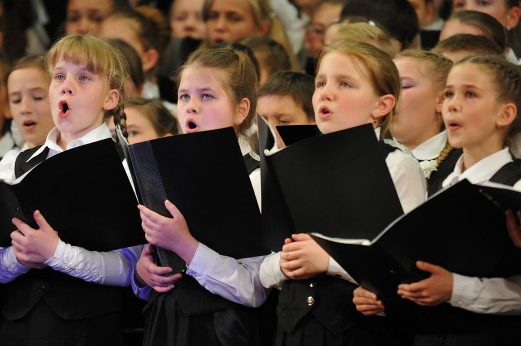 Картинки пою в хоре