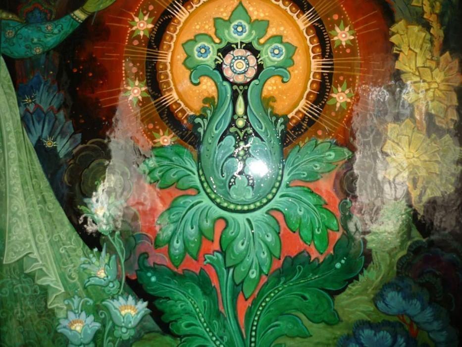 картинка каменного цветка из сказки многие