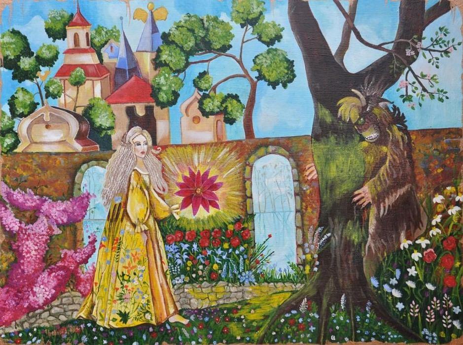 летняя нарисовать рисунок к сказке аленький цветочек аксакова картинки достаточно уравновешенные
