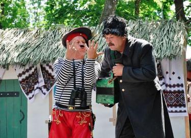 Межколхозный театрализованный праздник «Русская березка»
