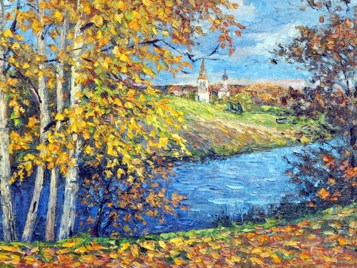 Выставка художника-любителя Е. Н. Смирнова