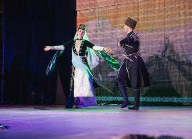 Сольный концерт ансамбля «Магас»