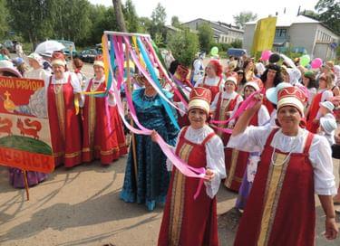 Праздник «Ивановская ярмарка в уездном городе»