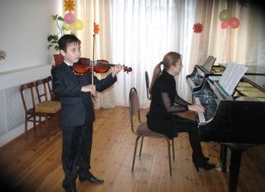 Отчетный концерт учащихся музыкальных отделений
