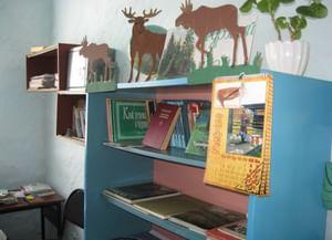 Библиотека-клуб д. Тарск