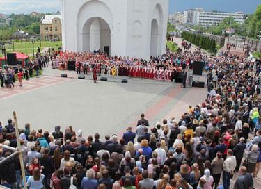 Хоровой фестиваль, посвященный Дню славянской письменности и культуры