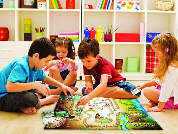 Игротека в Центре семейного чтения им. А. С. Пушкина
