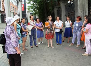 Экскурсии по историческому центру Красноярска