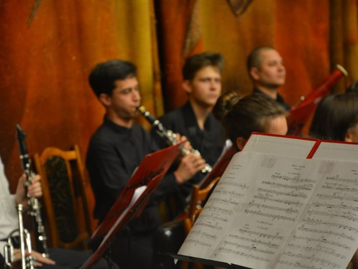 Концерт Международного молодежного симфонического оркестра