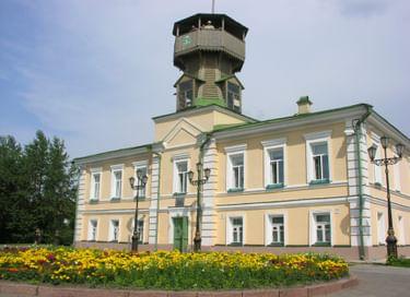 Основная экспозиция Музея истории Томска
