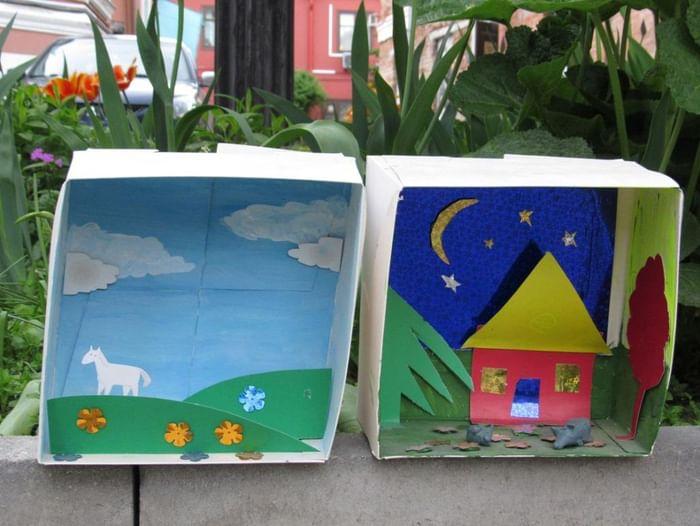 Творческо-познавательная программа для детей «Театр в коробке»