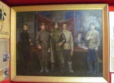 Выставка «На переломе эпох: 1917−1924 годы в Черни»