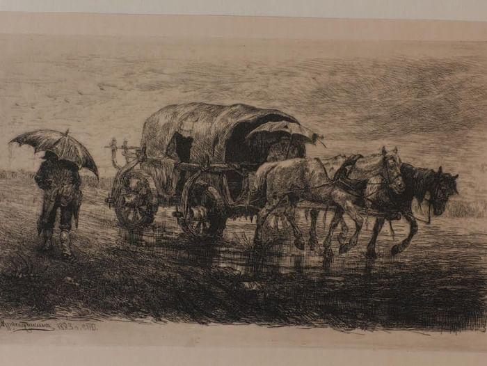 Выставка «Русская гравюра XIX века»