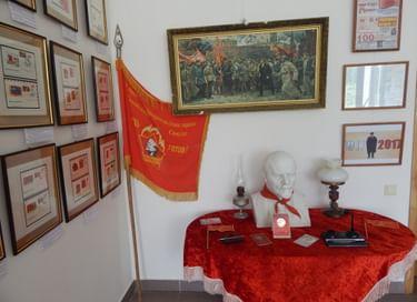 Выставка «Годовщины Октября»