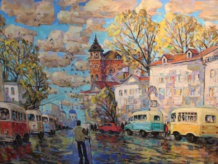 Персональная выставка Александра Кнэхта