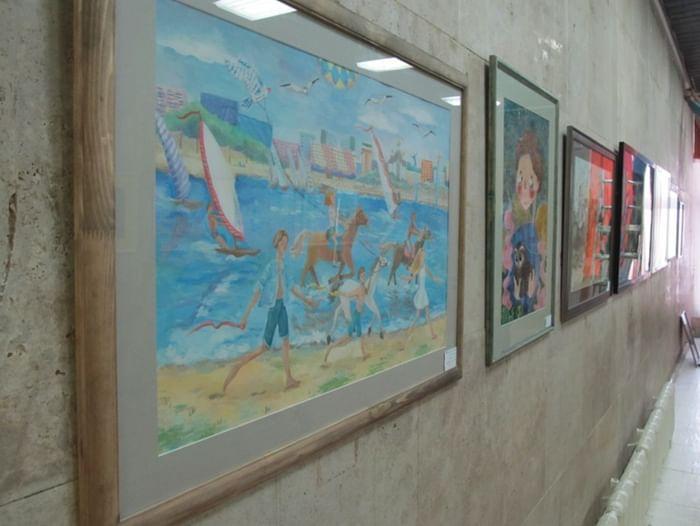 Выставка итоговых работ выпускников Детской художественной школы № 1