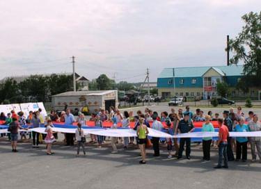 Народное гулянье «В сердце ты у каждого, Россия!»
