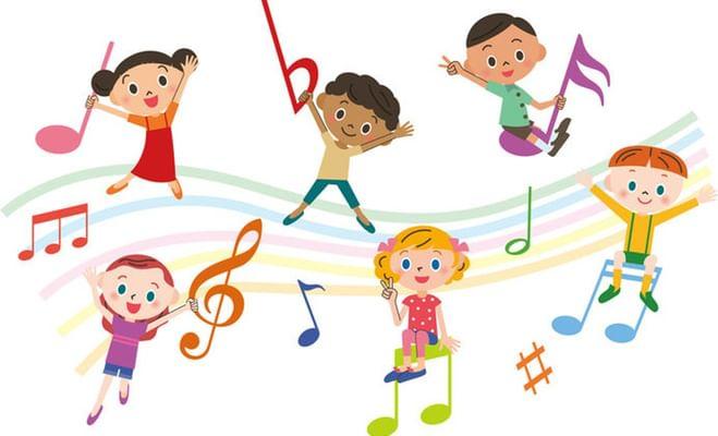 картинки веселые нотки для детей