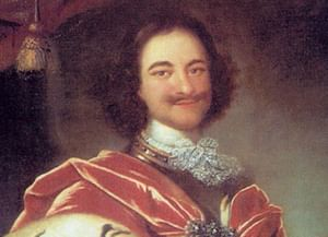 Пётр I: биография в портретах