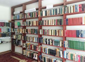 Сельская библиотека с. А-Шерипова